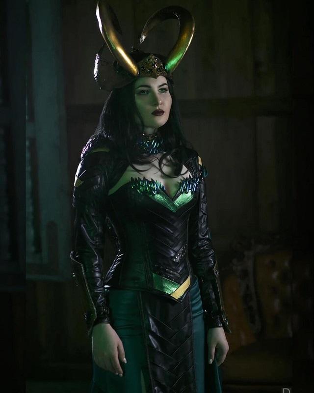 Cosplay Loki Femenina Marvel