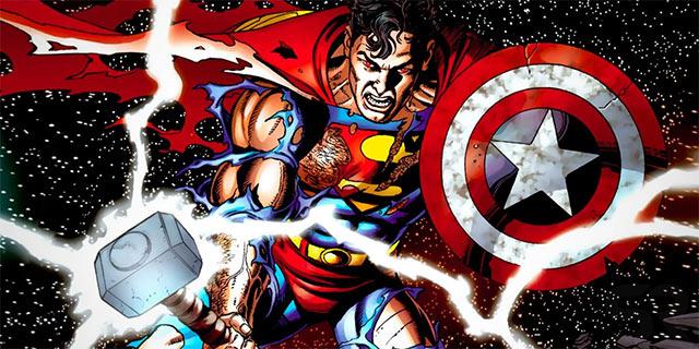 Marvel Martillo de Thor Superman Mjölnir