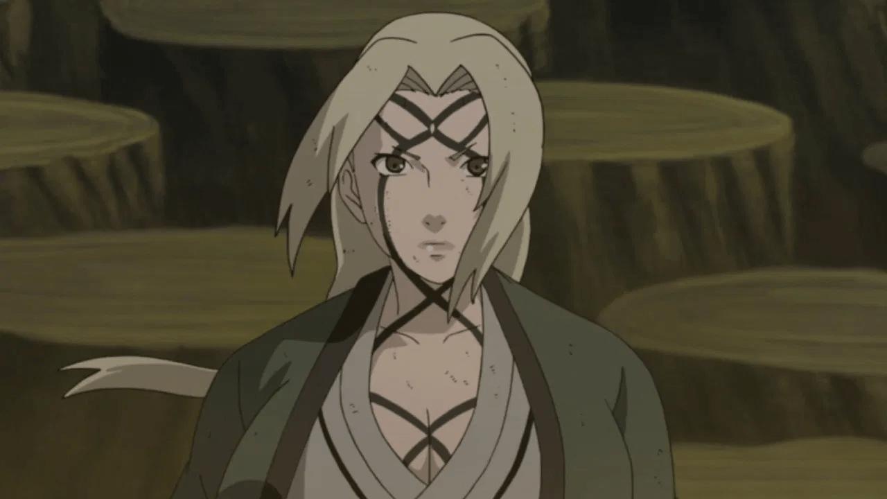 tsunade naruto kunoichi ranking poder