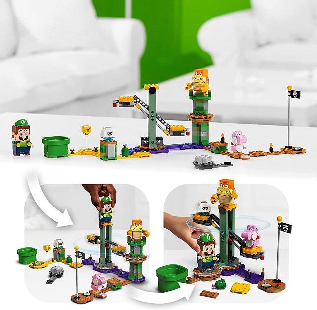 Set de Lego Mario Bros. Luigi Adventures with Luigi