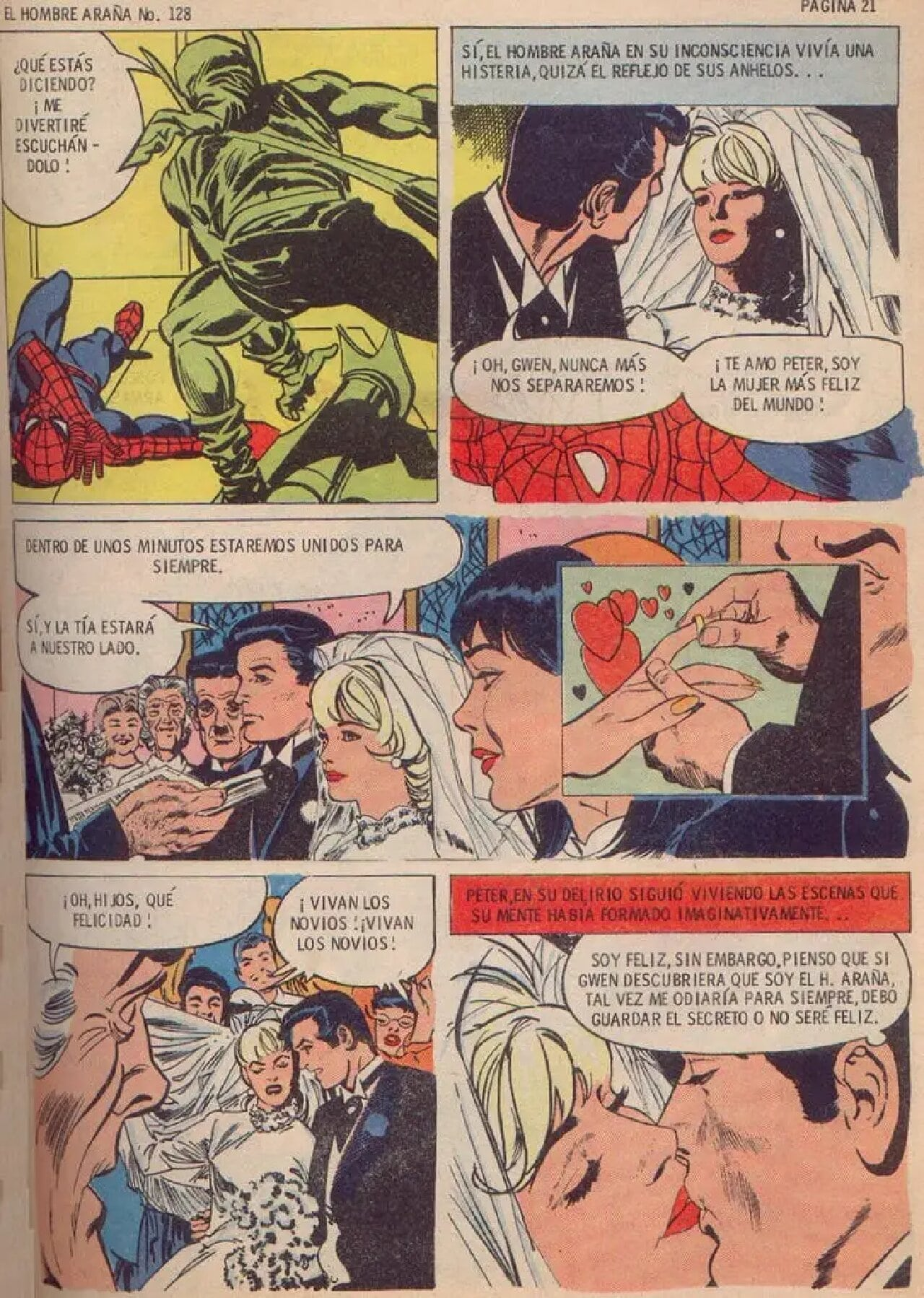 spider-man méxico boda peter parkr gwen stacy