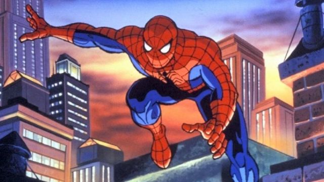 Spider-Man Serie Animada Película Into The Spider-Verse 2