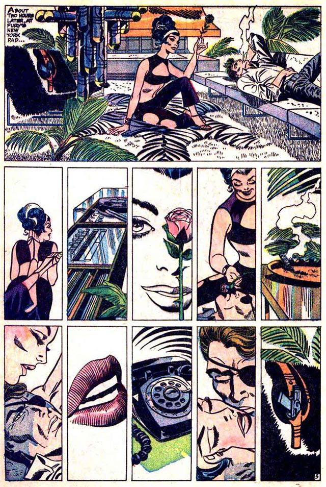 Contessa Valentina Allegra de Fontaine The Falcon and the Winter Soldier Origen Comics