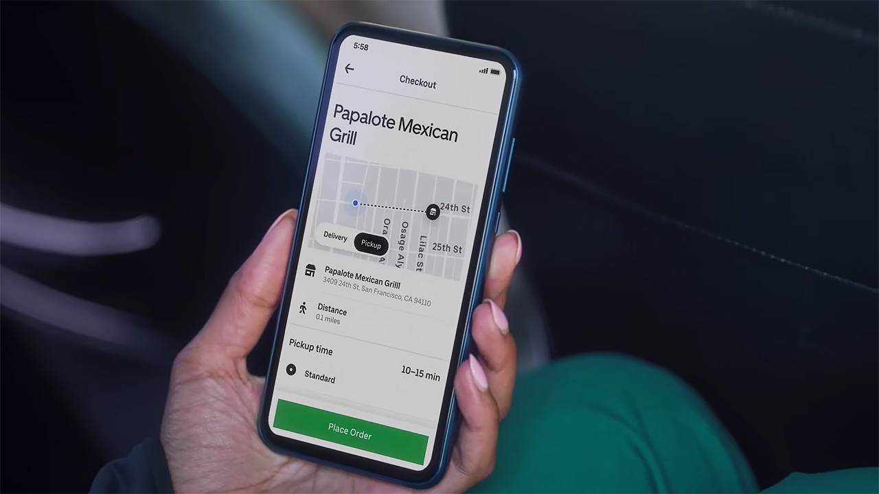 Uber Pickup and Go