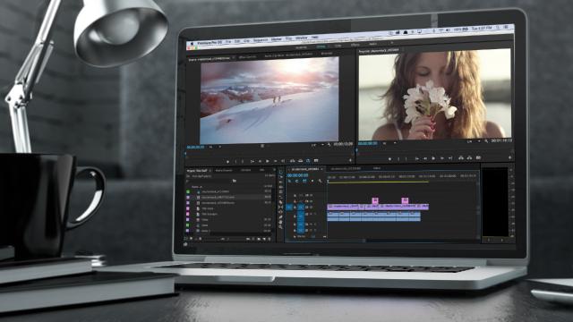 edicion de video adobe premiere pro