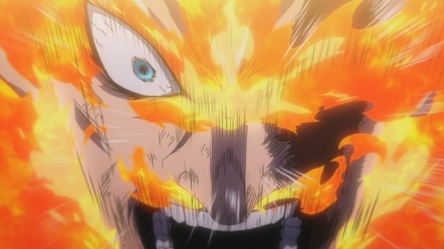 endeavor herida ojo pelea nomu boku no hero