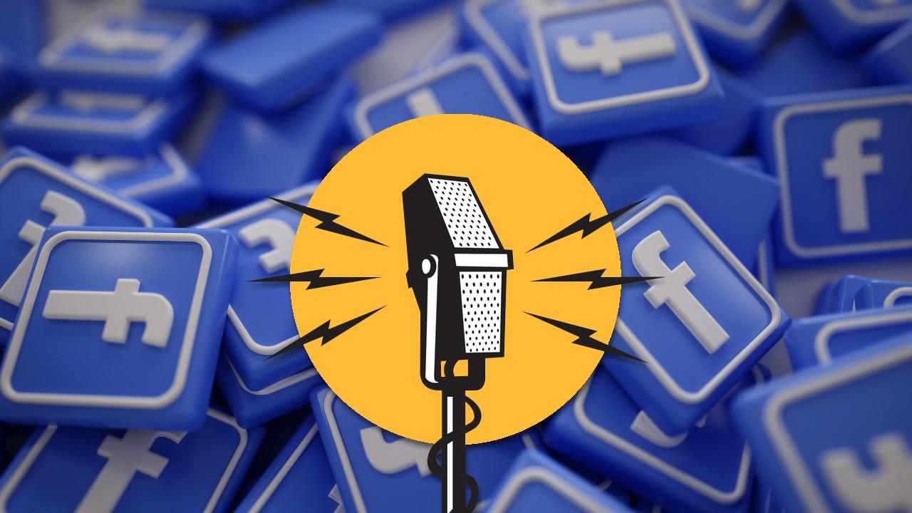 Facebook quiere apostar por los podcast