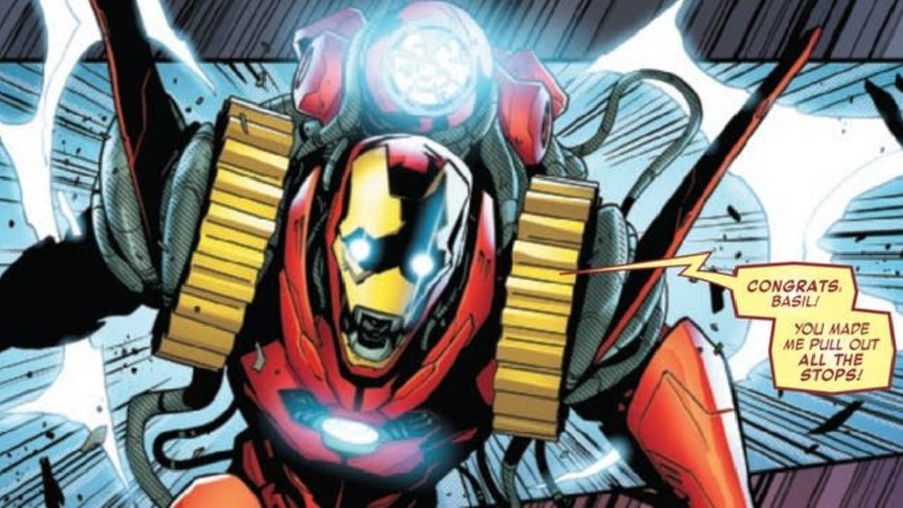 iron man godbuster armadura