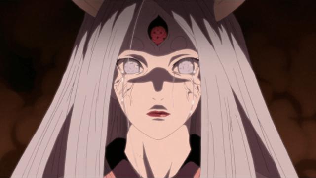 kaguya otsutsuki creadora del chakra