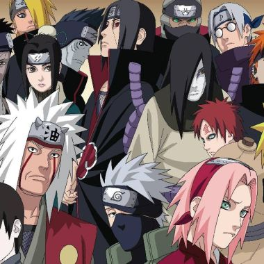 naruto personajes más poderosos anime