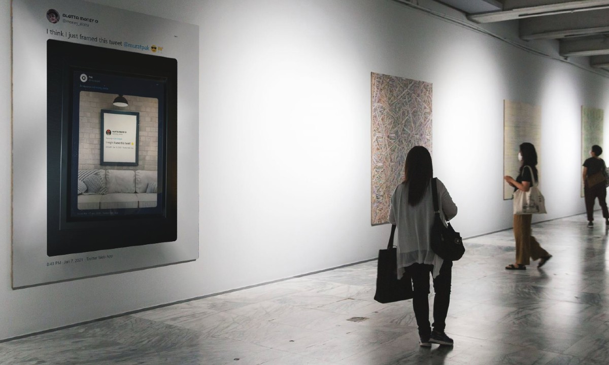 El artista Pak consiguió vender una obra digital en mas de un millón de dólares.