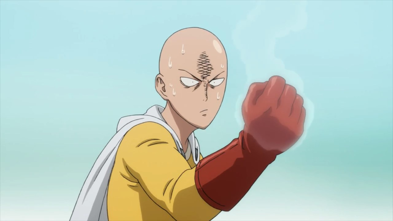 saitama nivel de poder anime
