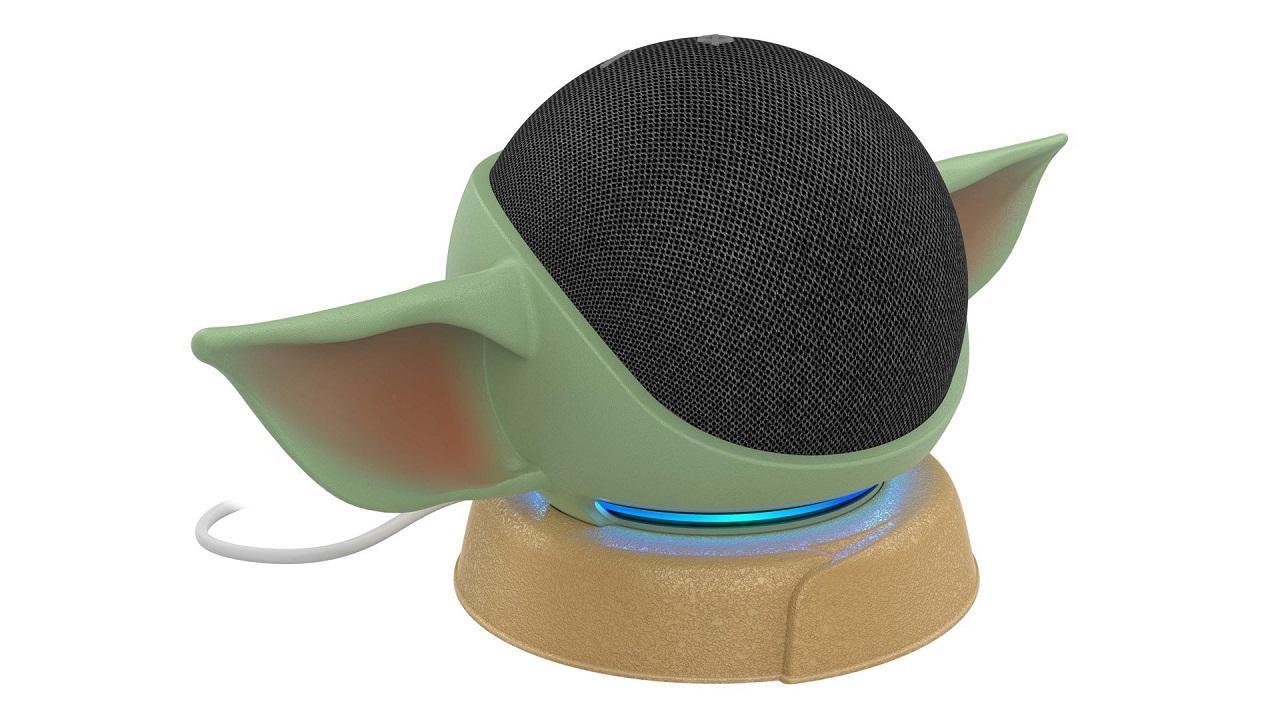 Star Wars Amazon Echo Dot Baby Yoda Soporte Amazon