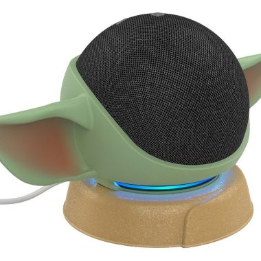 Star Wars Amazon Echo Dot Baby Yoda Soporte Amazon