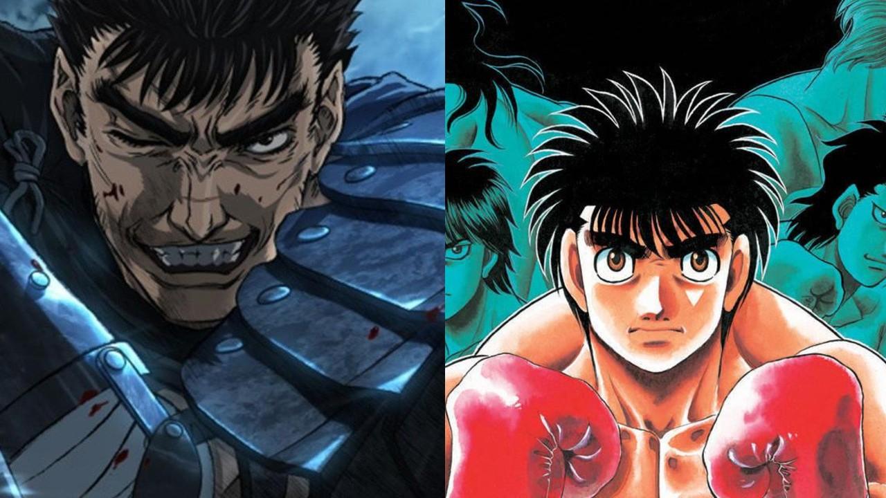 berserk Hajime no Ippo homenaje manga kentaro miura anime