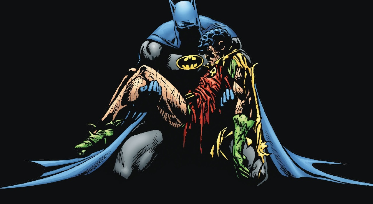 robin batman versiones jason todd