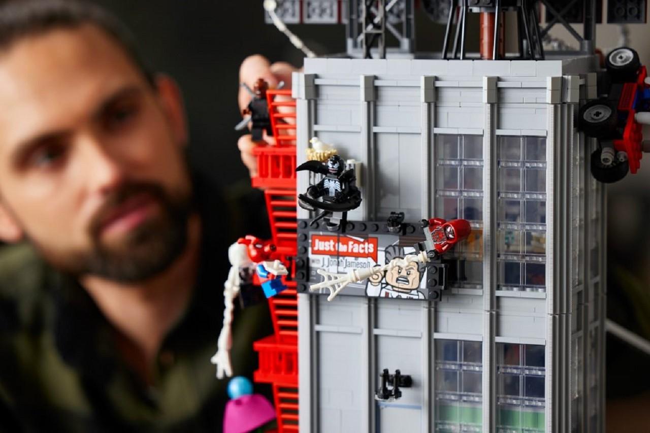 Set de Lego Spider-Man Daily Bugle