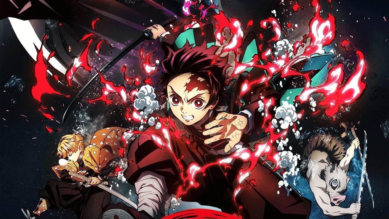 Demon Slayer: Infinity Train Película Anime Kimetsu no Yaiba Récord Estados Unidos