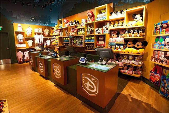 Disney Tienda Minorista Cierre
