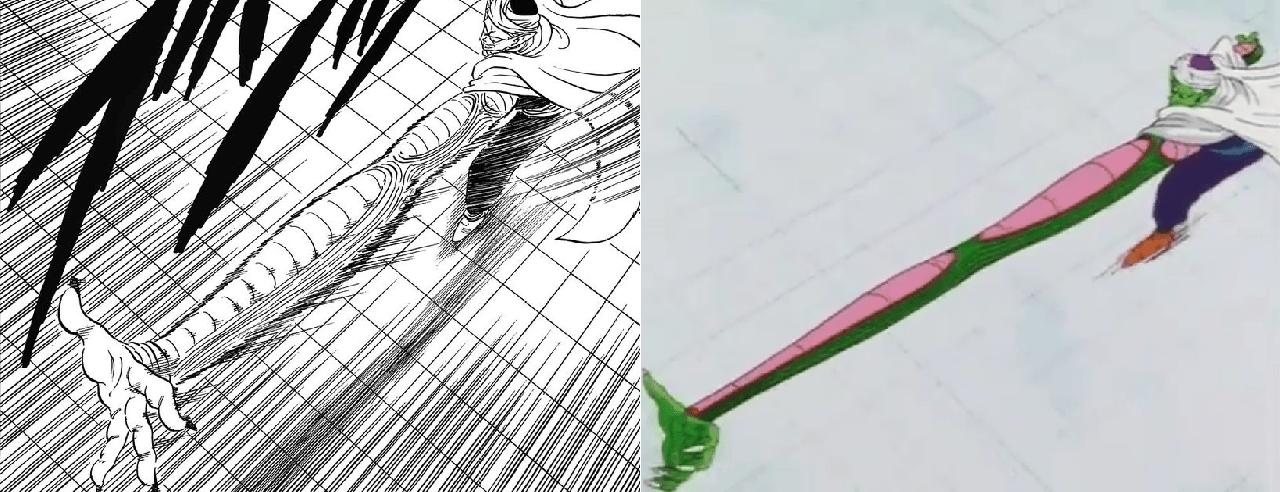 dragon ball anime manga píkoro diferencias