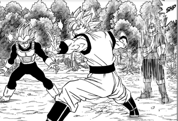 Vegeta y Goku vs Granola