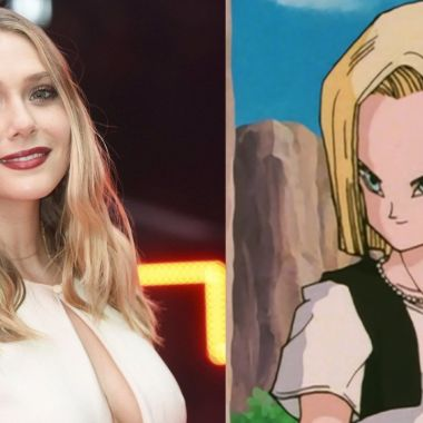 elizabeth olsen fanart anime androide 18 dragon ball live action