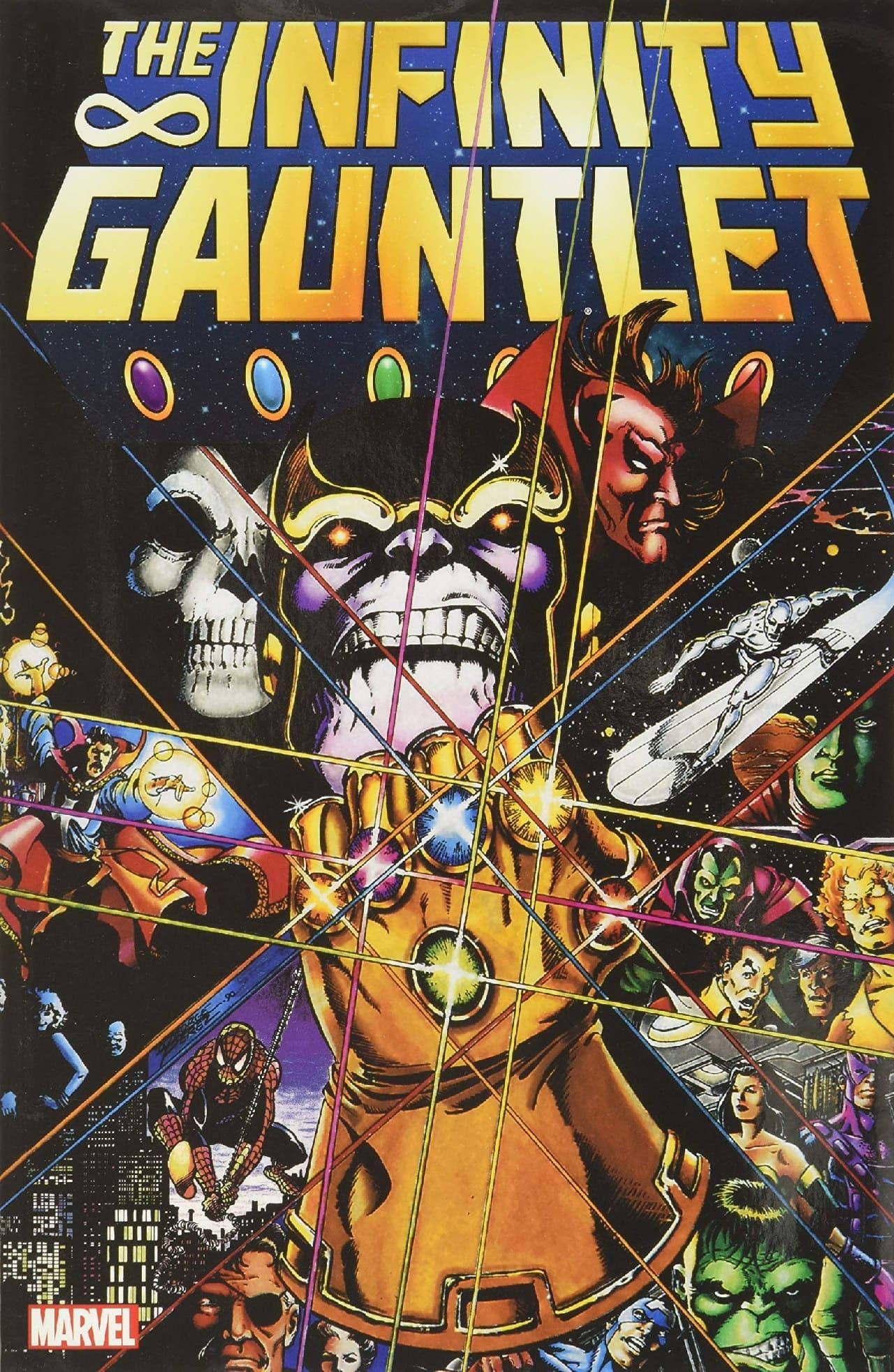 thanos guantelete infinito marvel comics