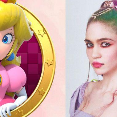 Grimes, la esposa de Elon Musk, realiza un asombroso cosplay de la Princesa Peach