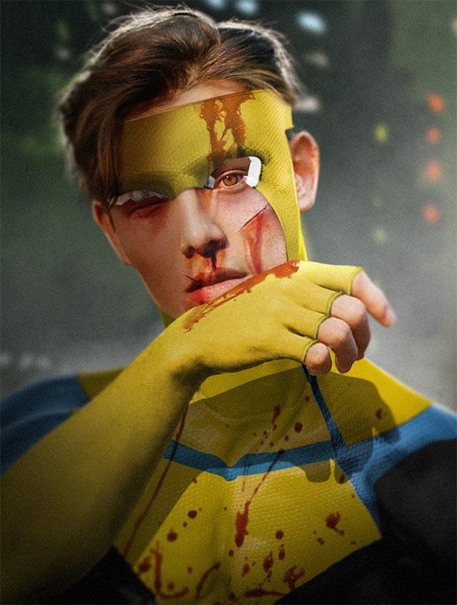 Invincible Ryan Potter Mark Grayson BossLogic