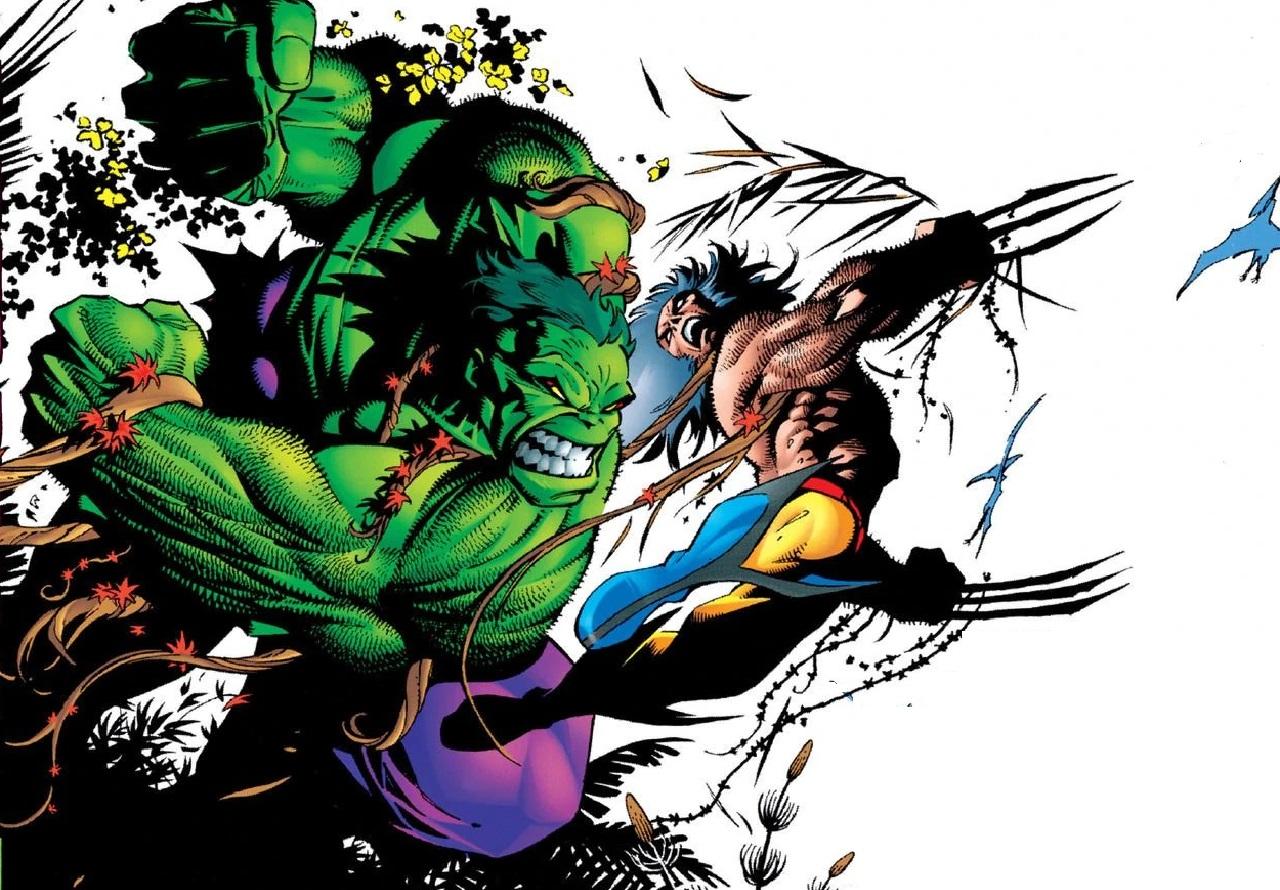 hulk vs. wolverine marvel enfrentamientos ranking