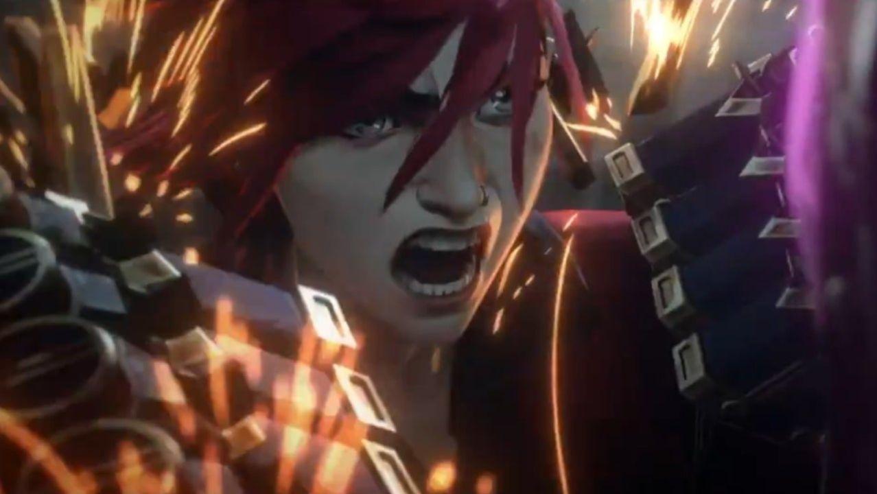 League of Legends Arcane Serie Animada Netflix
