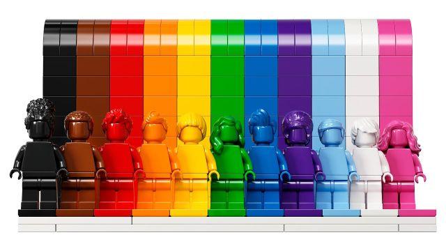 LEGO Set LGBT Mes del Orgullo LGBT