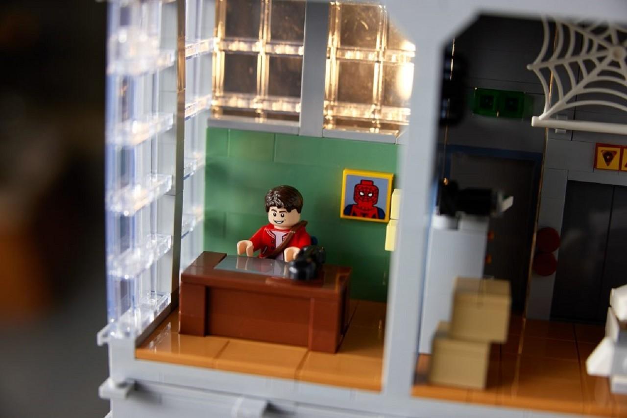 Meme Spider-Man Oficina Lego Marvel