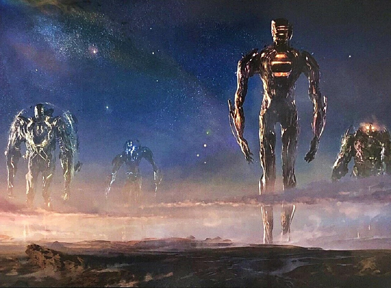 eternals celestiales marvel arte conceptual
