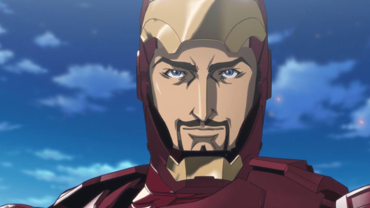 tony stark anime iron man marvel