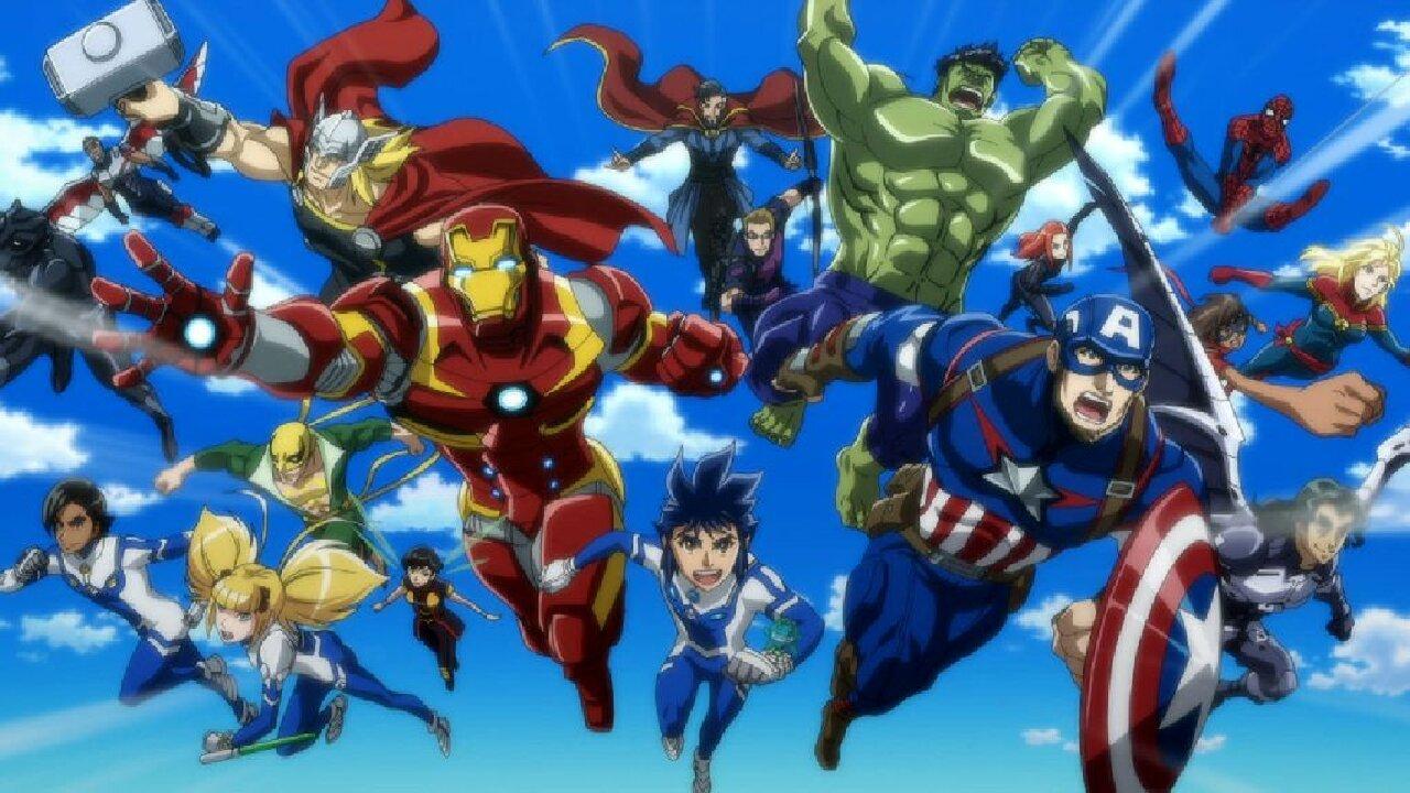 anime avengers madhouse serie japón
