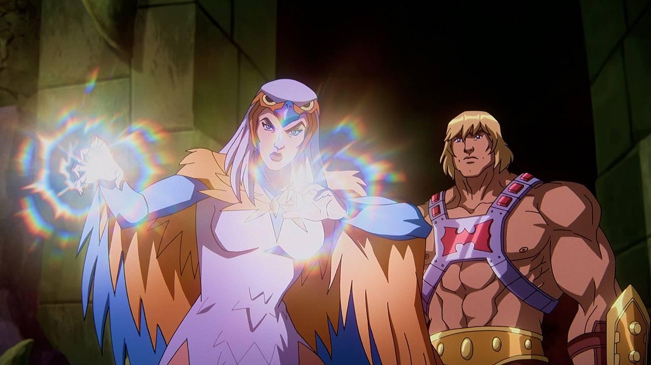 Hechicera Nueva Serie Animada Netflix Masters of the Universe
