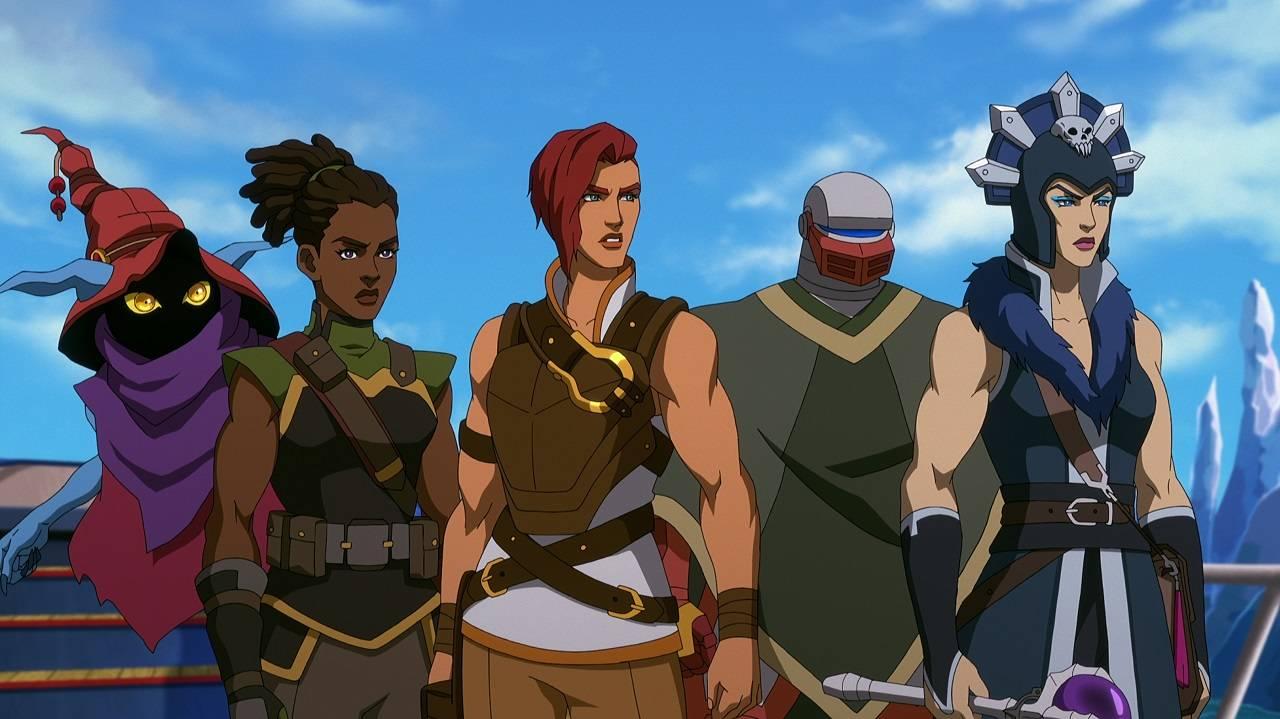 Masters of the Universe Revelation Nueva Serie Animada Netflix