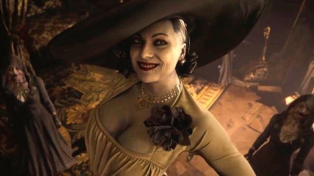 Lady Dimitrescu resident evil village cosplay