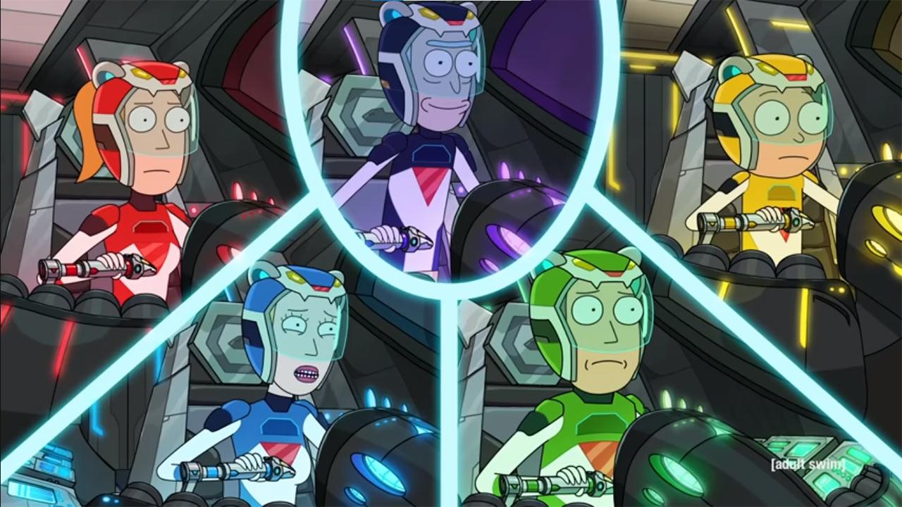 Rick and Morty Quinta Temporada Tráiler Voltron