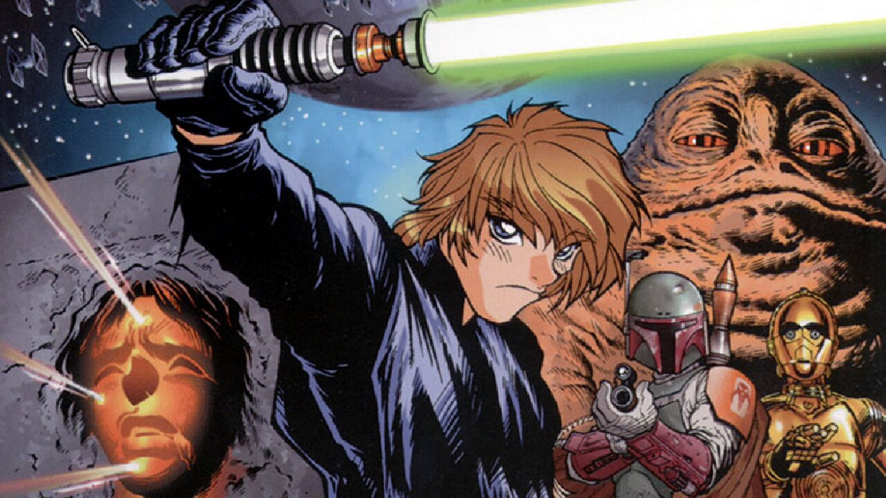 star wars manga japón tributo