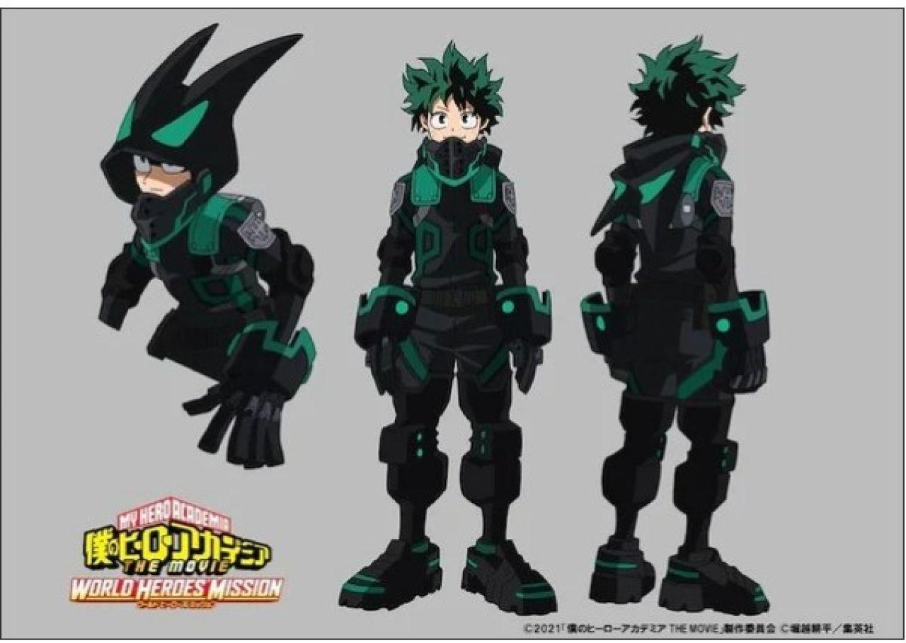 deku boku no hero world heroes mission