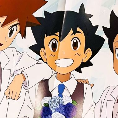 Pokémon: fans descubren una boda entre Ash, Goh y Gary