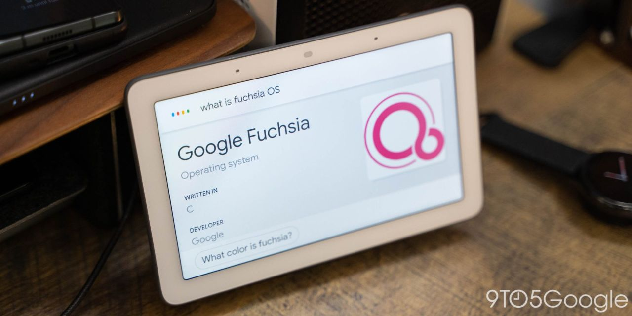 google fuchsia os lanzamiento
