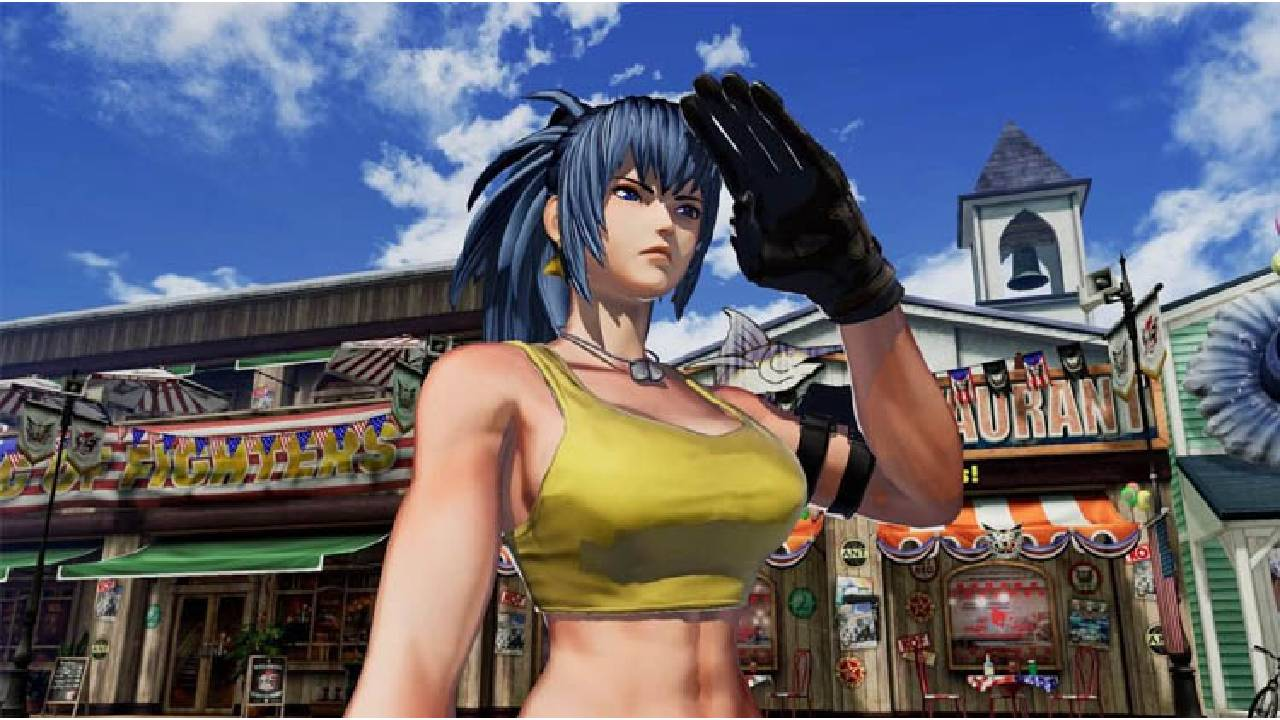 leona the king of fighters xv trailer