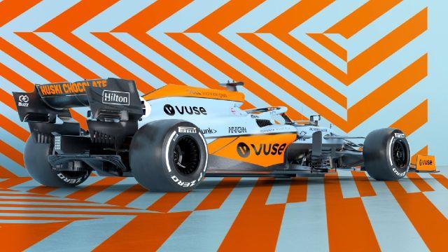 McLaren homenajea a Gulf Oil con su decoración