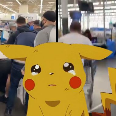 Acaparadores de cartas de pokemon son grabados