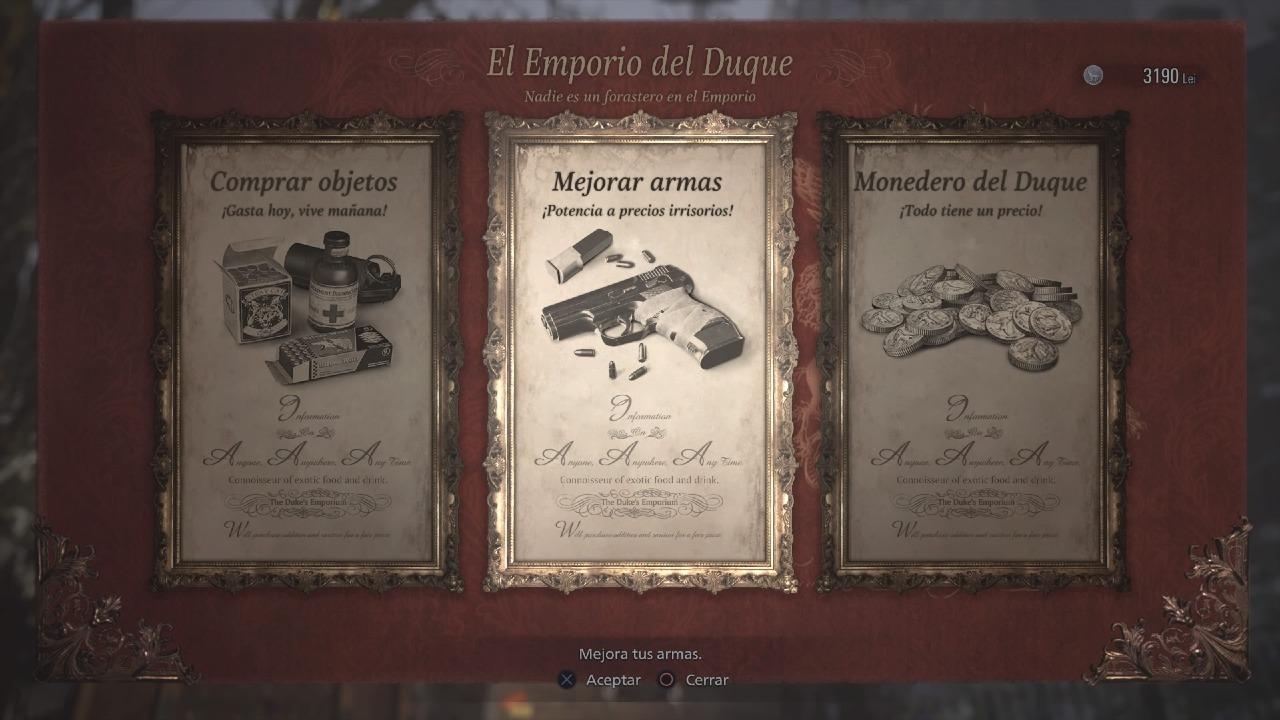 Resident Evil Village Duque