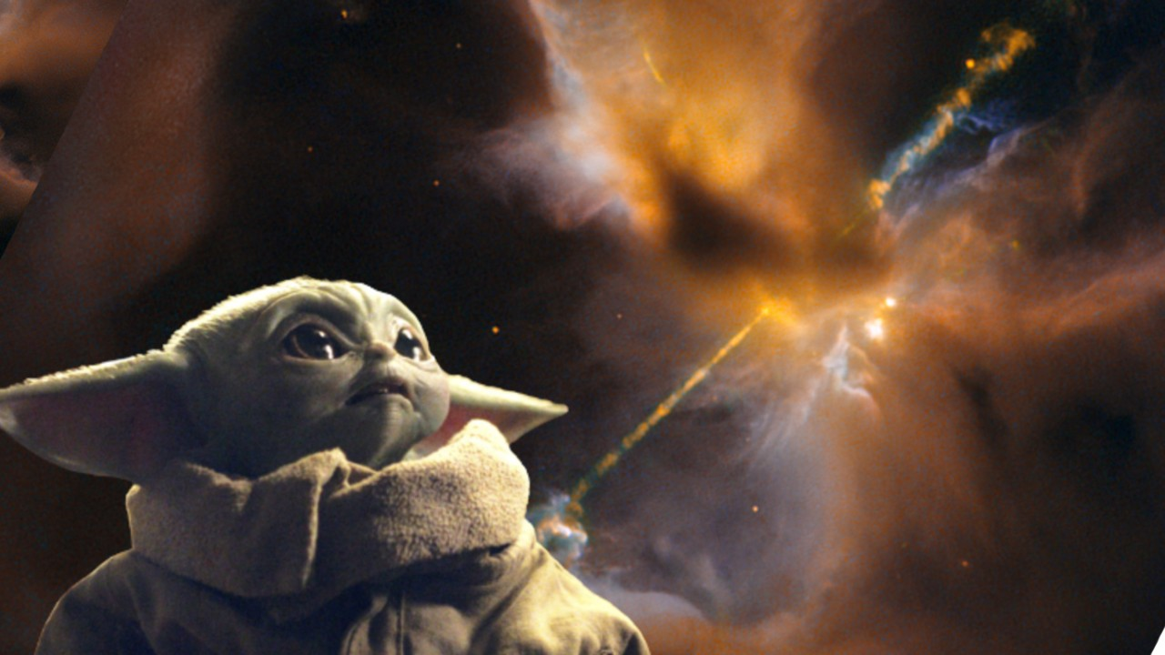 Este es el Sable de Luz Celestial que la NASA descubrió