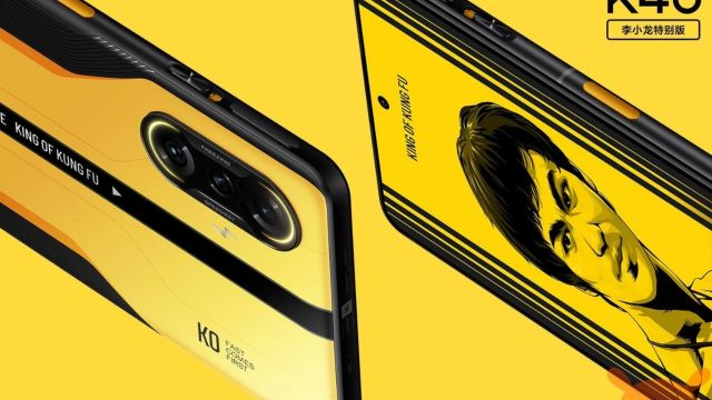 Xiaomi K40 Gaming Bruce Lee Edition
